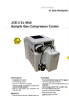 JCE-2 Ex Midi Sample Gas Compressor Cooler Datasheet