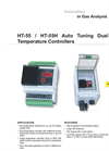HT-55 / HT-55H Auto Tuning Dual Temperature Controllers Datasheet