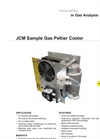 JCM Sample Gas Peltier Cooler Datasheet
