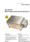 JES-301KE1 Back Purge Control Unit for Ex-Zone 1 Datasheet