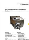 JCT - JCS-100 Sample Gas Compressor Cooler - Datasheet
