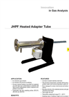 JCT - JHPF Heated Adapter Pipe - Datasheet