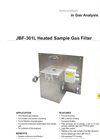 JBF-301L Heated Sample Gas Filter Datasheet