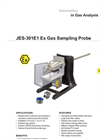 JCT - Model JES-301E1 - Gas Sampling Probe - Datasheet