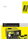 JCT - Model JCL-304 / JCL-319 - Gas Conditioning Systems - Manual