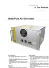 JCT - Model JPAG - Pure Air Generator - Datasheet
