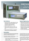 JCT - Model Conthos3-TCD - Process Thermal Conductivity Gas Analyser - Datasheet
