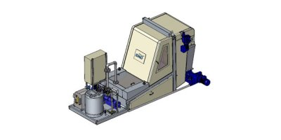 KAMPS - Model OMEGA SC Range - Sludge Dewatering Belt Filter Presses