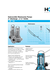 HOMA - Model TP 70 - Cast Iron Submersible Pumps - Brochure