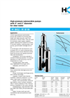 Model H 802–H 818 - High-Pressure Submersible Pump Brochure