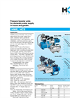 Model HWE, HCE - Pressure Booster Units Brochure