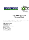 Aquarium Sand Filtration Media Brochure