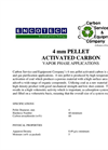 4mm Pellet Activated Carbon Brochure