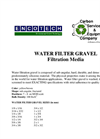 Water Filter Gravel Filtration Media Brochure