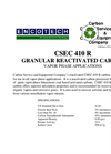 CSEC 410 R Granular Reactivated Carbon Brochure