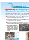 Hydroscreen - Storm Water Treatment - Brochure