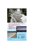 Hydroscreen - Hydro Intake Screens - Brochure