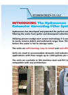 Hydroscreen - Rainwater Harvesting Screens System - Brochure