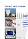 SODAR - Model PCS.2000 | PCS.2000-64 - Sodar Doppler System  Brochure