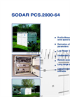 Model PCS.2000 | PCS.2000-24 - Sodar Doppler System Brochure