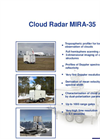 Model MIRA-35 - Doppler Scanning Cloud Radar Brochure