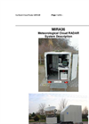 MIRA36 Meteorological Cloud RADAR System Description (PDF 549 KB)