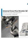 ANDRITZ MeWa - Model QZ - Universal Cross-Flow Shredder Brochure