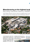 ANDRITZ MeWa Manufacturing - Brochure