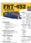 Model FRT-452 - EZ Step Round Bottom Fixed Axle Frac Tank Datasheet