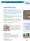 BIOMASSER SOLO - Biomass Briquetting Press - Brochure