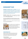 BIOMASSER DUO - Briquetting Press - Brochure