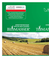 BIOMASSER - Briquetting Presses and TOMASSER - Shredder for Straw - Russian (listovka) Brochure