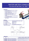 Water Meter Console For Water Meters Brochure