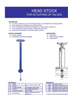 Head Stock For Actuating Of Valves Brochure