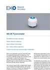 MS-80 Pyranometer Secondary Standard Analog Pyranometer - Technical Specifications