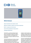 MS-02 Handheld Readout Sensor - Technical Specifications