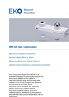 MR-60 Net Four-Component Radiometer - Technical Specifications