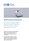 MS-093 Sunshine Duration Sensor - Technical Specifications
