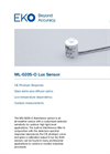 ML-020S-O Lux Illuminance Sensor - Technical Specifications