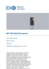 MF-180 Heat flux sensor - Technical Specifications