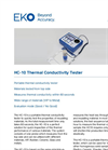HC-10 Thermal Conductivity Tester - Technical Specifications
