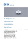 MS-802 Secondary Standard Pyranometer - Technical Specifications