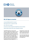 MC-20 Signal Converter - Technical Specifications