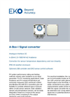 A-Box-I Signal Converter - Technical Specifications