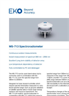 MS-713 Spectroradiometer - Technical Specifications
