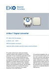 A-Box-T Signal Converter - Technical Specifications