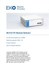 MI-510 PV Module Selector - Technical Specifications