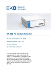 MI-520 PV Module Selector - Technical Specifications