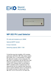 MP-303 PV Load Selector - Technical Specifications