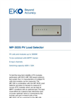 MP-303S PV Load Selector - Technical Specifications